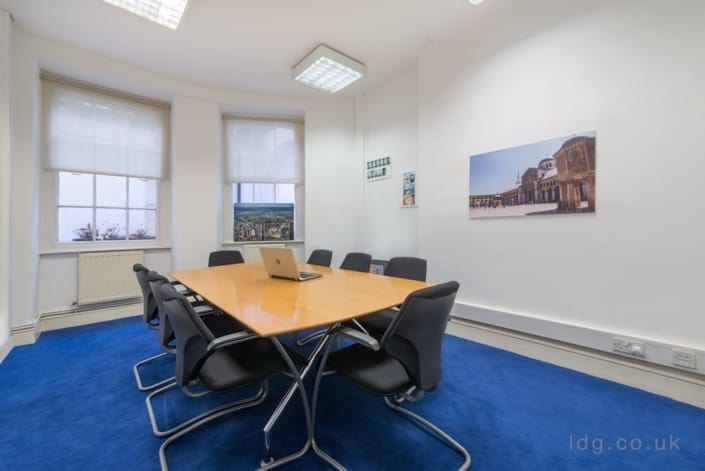 Bloomsbury Law Office boardroom