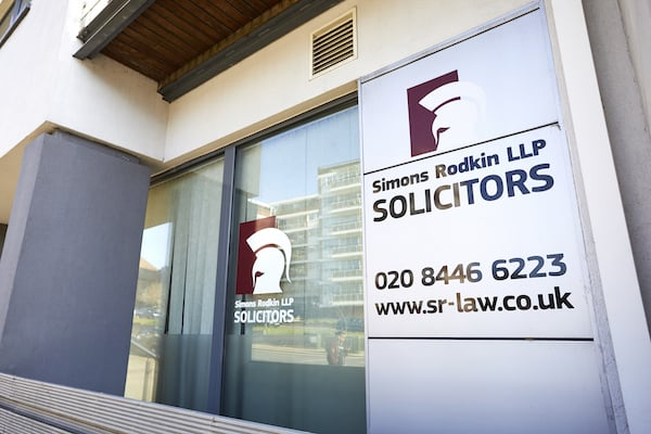 Simon Rodkin Solicitors LLP front of office